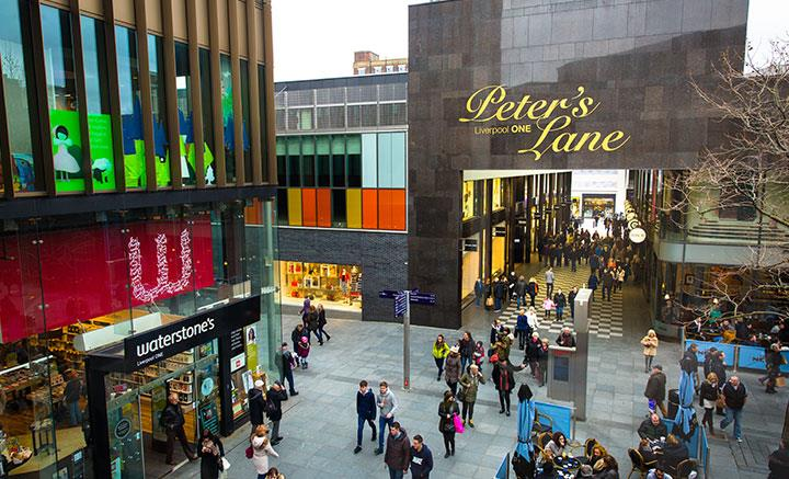 Liverpool One Peters Lane